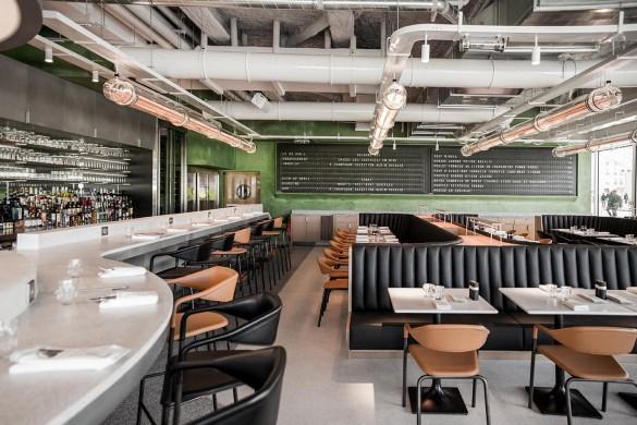 Restaurant Champeaux sous la canonnée des Halles