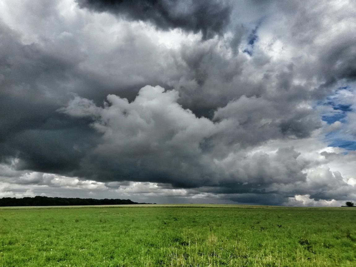 ciel nuageux nuages