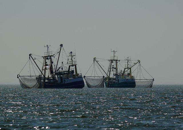 océan bateaux peche turbo